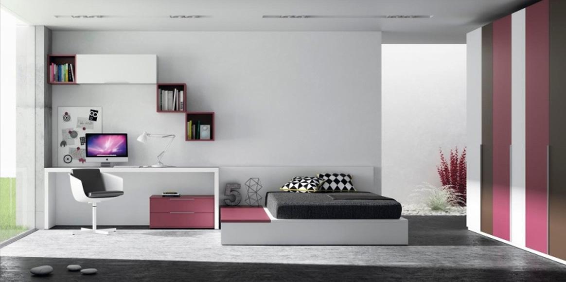 Habitación con cama tatami, mucho diseño con muchos acabados a elegir