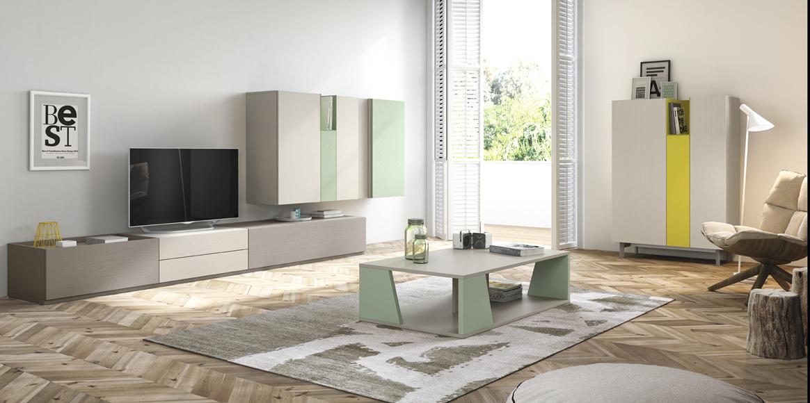 Mueble modular, con gran variedad de colores a elegir.