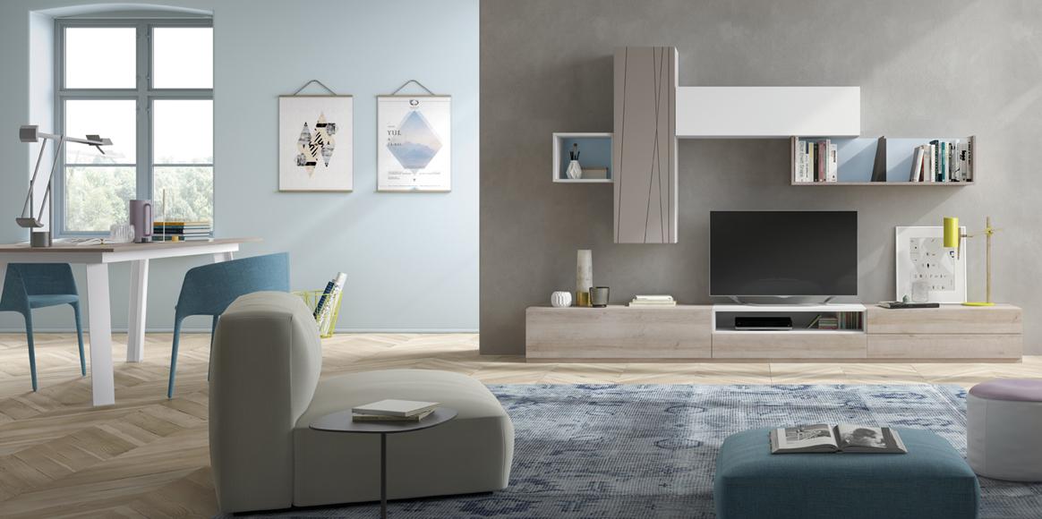 Mueble modular con gran variedad de colores