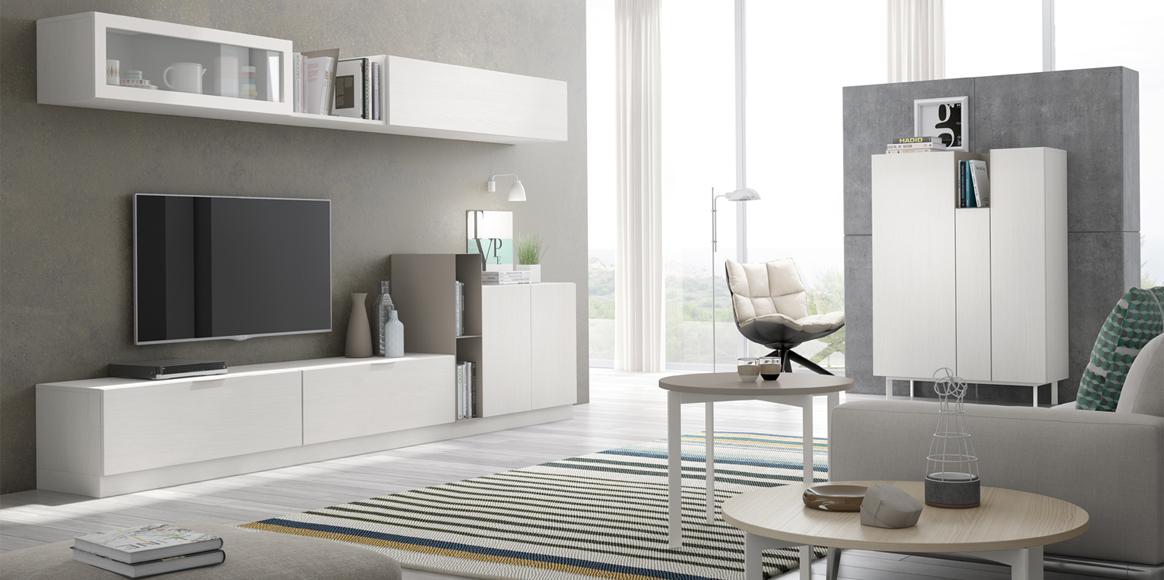Mueble modular que cuenta con auxiliares que permite cerrar un determinado ambiente